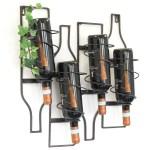 Flaschenschrank Produkte Zum Kochen Geniessen Weinregal Metall Schwarz Wand 4 Wine Erweiterbar Flaschenregal Flaschenstander Produkte Zum Kochen Geniessen Bar Wein Accessoires