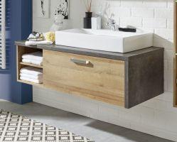 Waschtisch Set Waschbeckenunterschrank mit Waschbecken ...