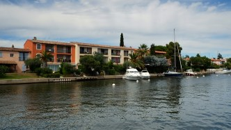 Port Grimaud from Port Cogolin