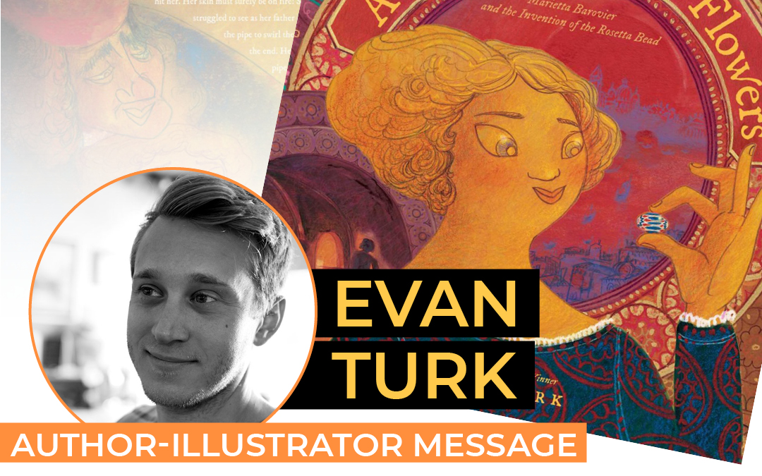 Evan Turk – A THOUSAND GLASS FLOWERS