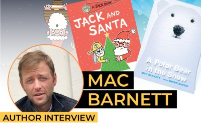 Mac Barnett – Jack, Santa and a Polar Bear in Snow