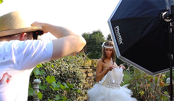 using soft or hard light modifiers for