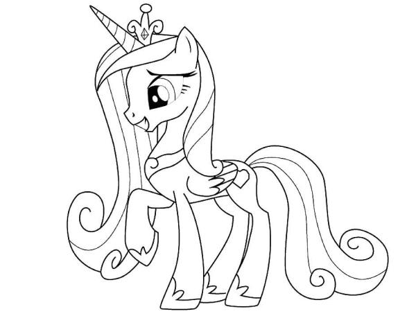 Красивые картинки пони для срисовки