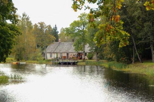 alte Mühle von Birinu Pils/Latvia