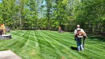 Fertilized By PPLM | (804)530-2540 | Green Lawns In VA