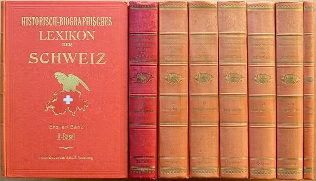 Bildergebnis für Historisch-Biographisches Lexikon der Schweiz