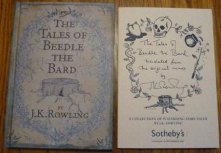 The Tales of Beedle the Bard   Sotheby s Auction Catalogue by J  K          The Tales of Beedle the Bard   Sotheby s Auction Catalogue  J  K
