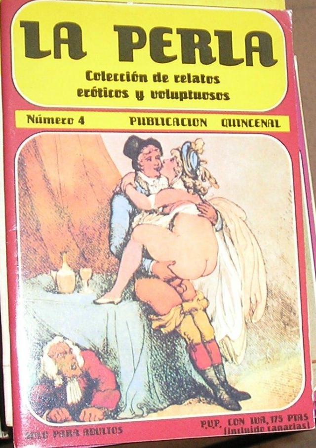La Perla Coleccion De Relatos Eroticos Y Voluptuosos No 4 Vvaa