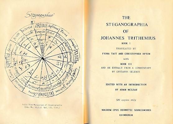 Resultado de imagem para Johann Trithemius