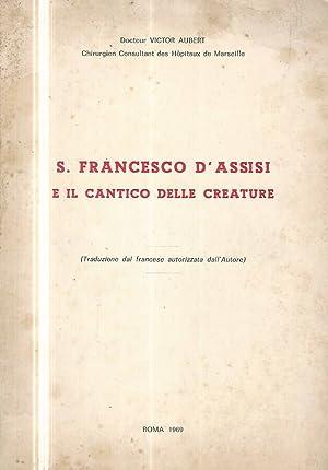 Francesco Dassisi Il Cantico Delle Creature Abebooks
