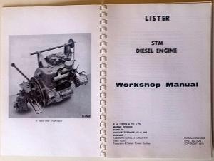 LISTER STM MARINE PROPULSION DIESEL ENGINE (123 CYLINDER