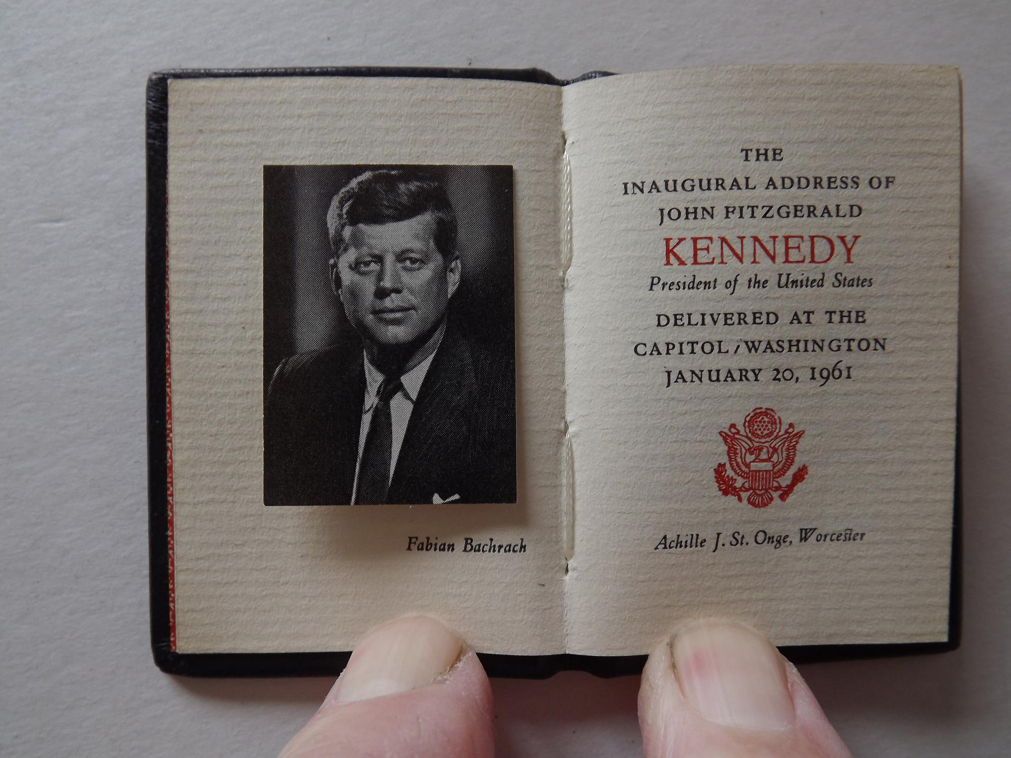 The Inaugural Address Of John Fitzgerald Kennedy By