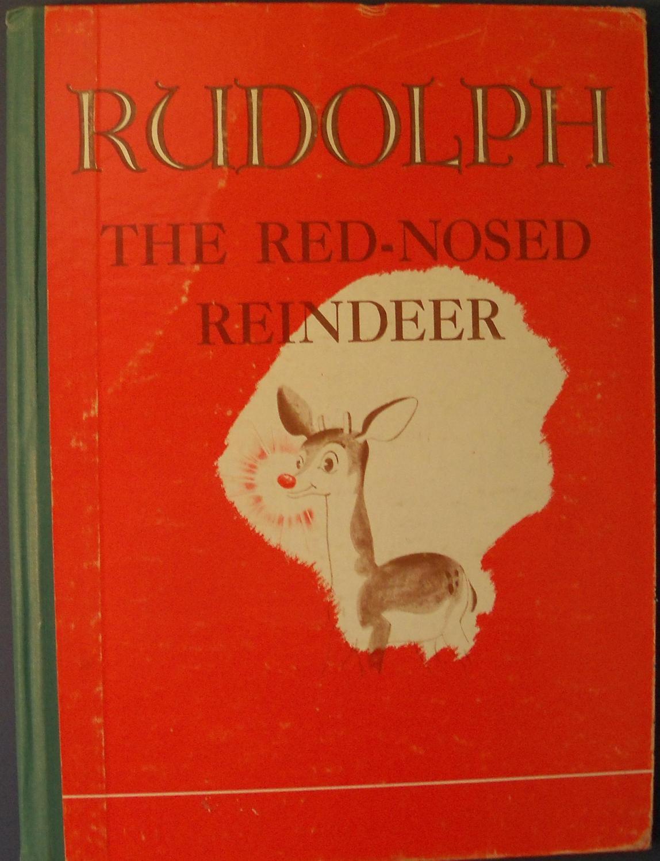 Montgomery Ward Rudolph Coloring Book