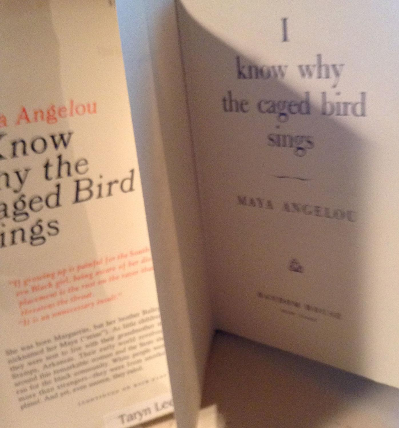 I Know Why The Caged Bird Sings By Maya Angelou Random