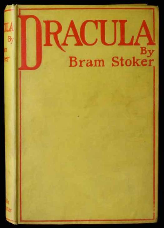 Image result for first edition dracula