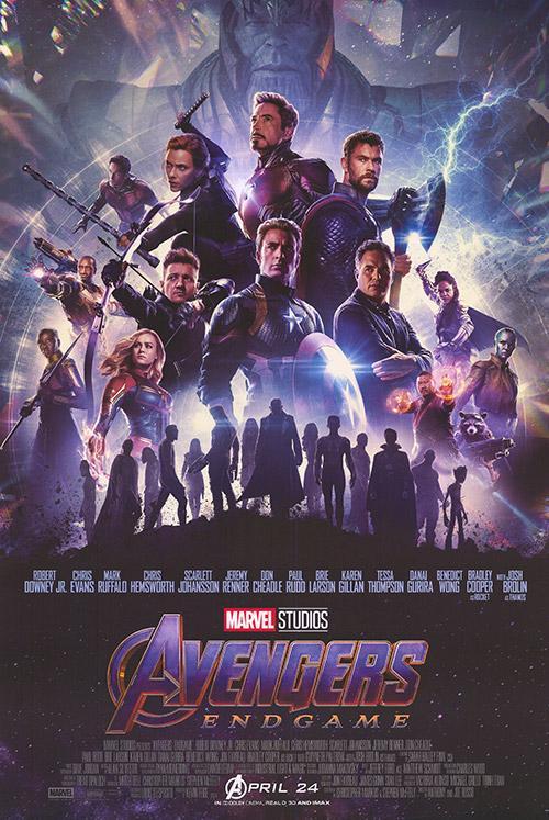 40 avengers endgame movie poster