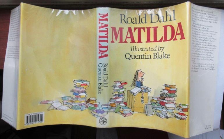 Matilda de Roald Dahl: Near Fine Hardcover (1988) 1st Edition ...