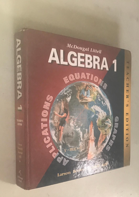 Mcdougal Littell Algebra 1 Applications Equations