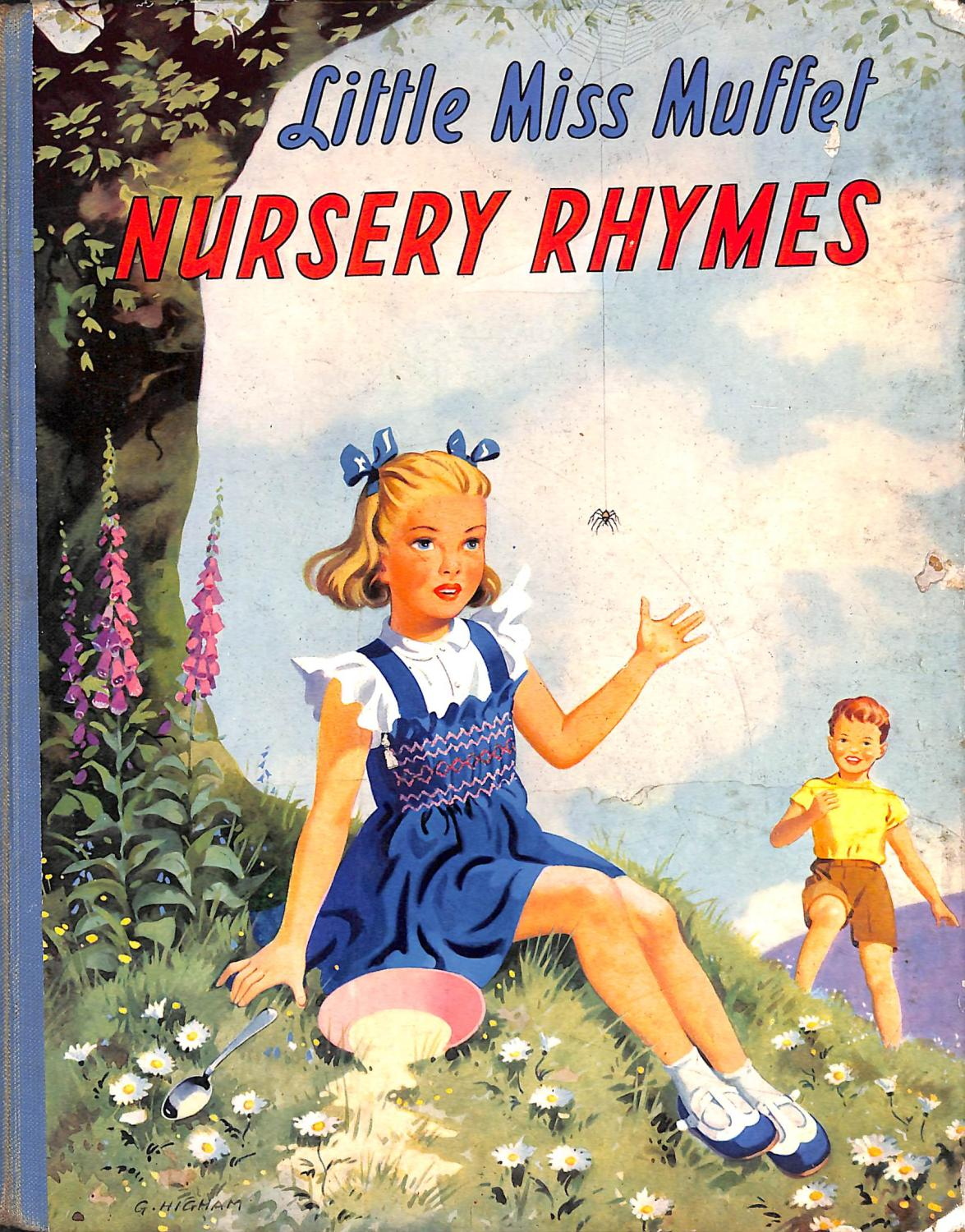 Little Miss Muffet Nursery Rhymes By No Author Juvenile