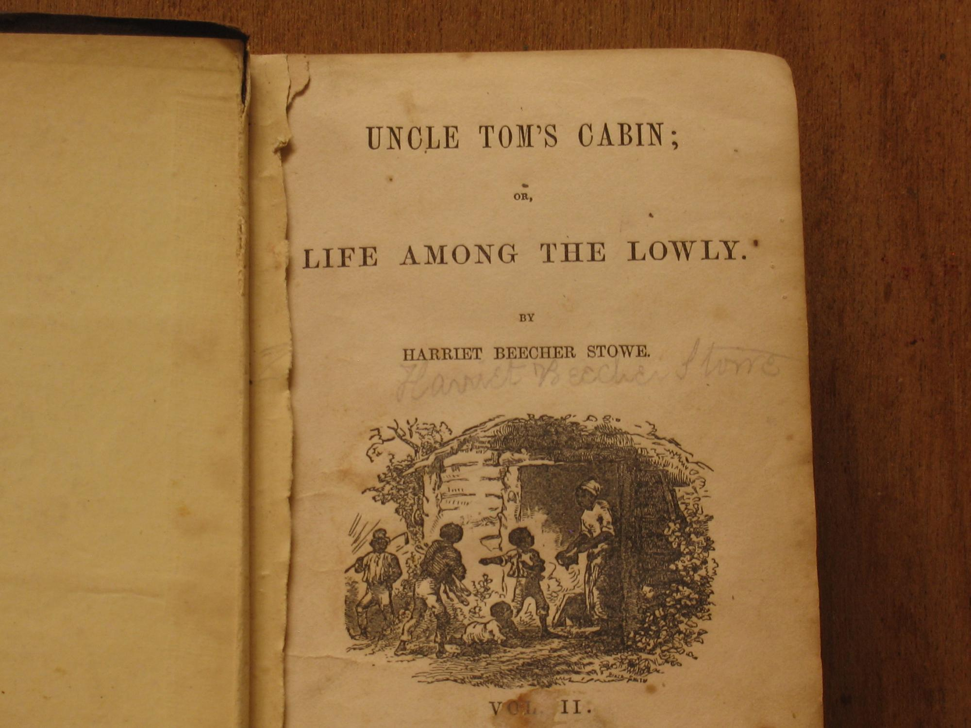 Uncle Tom S Cabin Or Life Among The Lowly Vol Ii