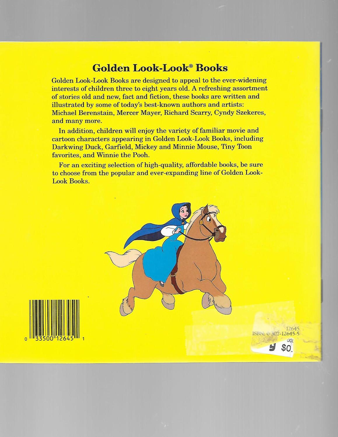 Disney S Beauty And The Beast Golden Books By Michael