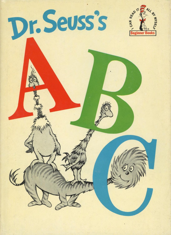 Dr Seuss S Abc By Seuss Dr Near Fine Hardcover