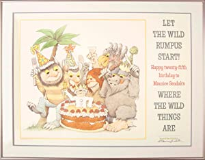 poster where the wild things are