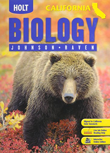 Holt Biology California Istudent Edition