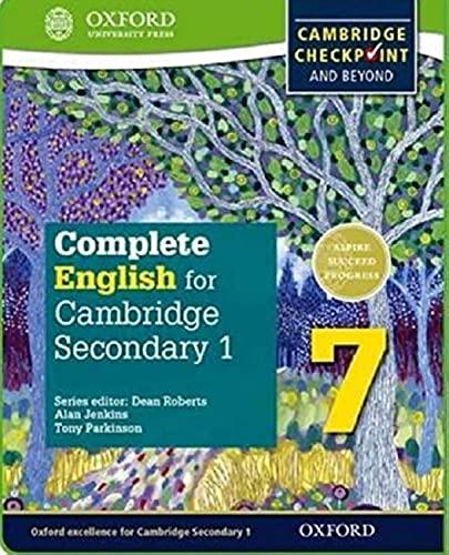 نتيجة بحث الصور عن complete english for cambridge secondary one