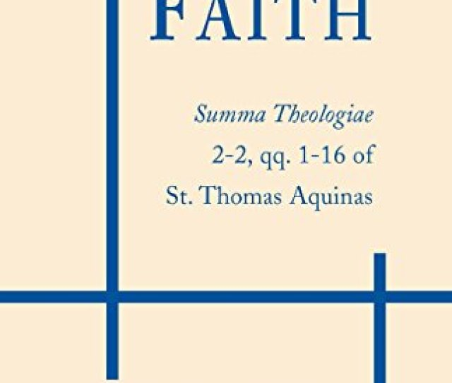 9780268015039 On Faith Summa Theologiae Part 2  16
