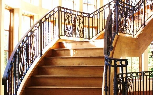 Interior Wrought Iron Railings By Antietam Iron Works In Mc | Wrought Iron Railing Interior | Building Iron | Stair | Gallery | Victorian | Outdoor