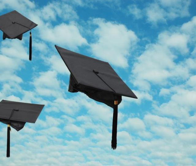 Feel Free To Use Small Diplomas Or Hats As Personalized Graduation Decorations For Your Drinks
