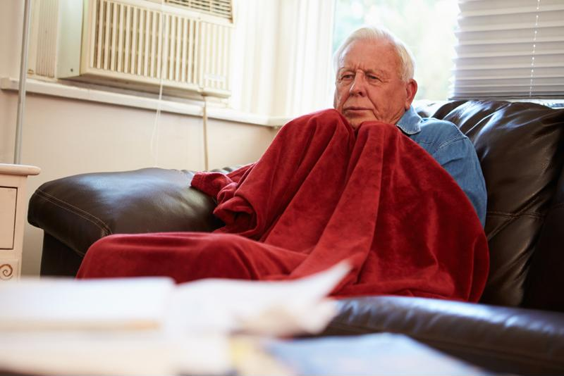It's not uncommon for some people to spend much of winter bundled up indoors.