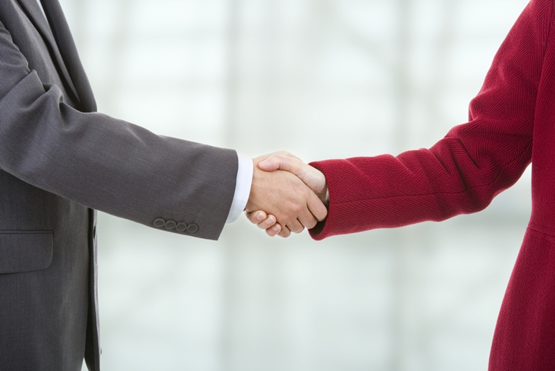 Trade shows are great for delivering sales pitches and making deals.