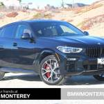 New 2021 Bmw X6 M50i Sports Activity Coupe Carbon Black For Sale In Seaside Ca Stock M9e32367