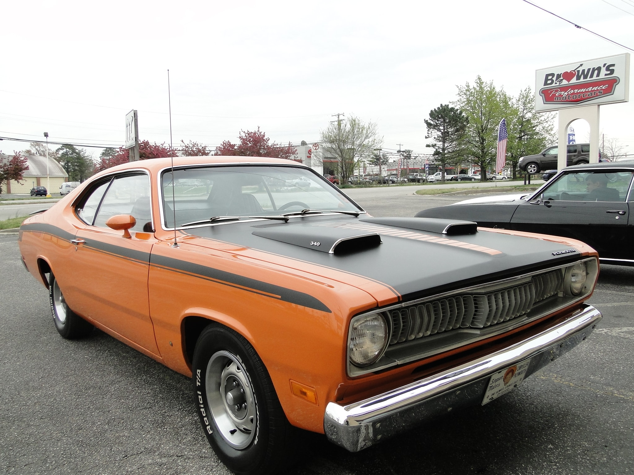 New 1971 Plymouth Duster 340