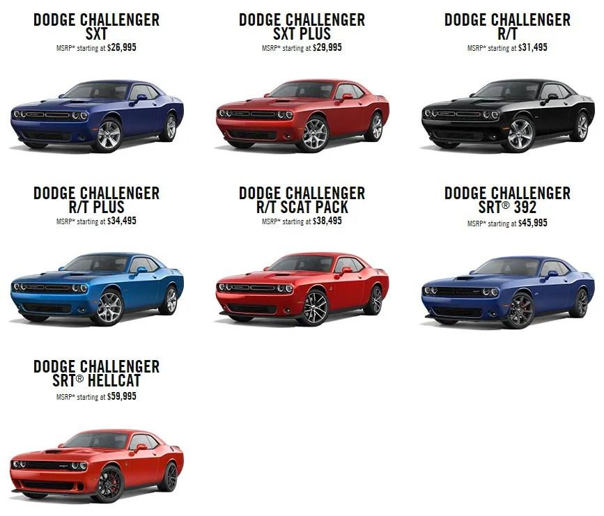 Challenger Paint Schemes