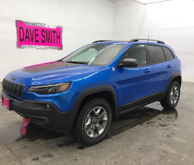 2019 Jeep Cherokee Trailhawk Elite 4x4