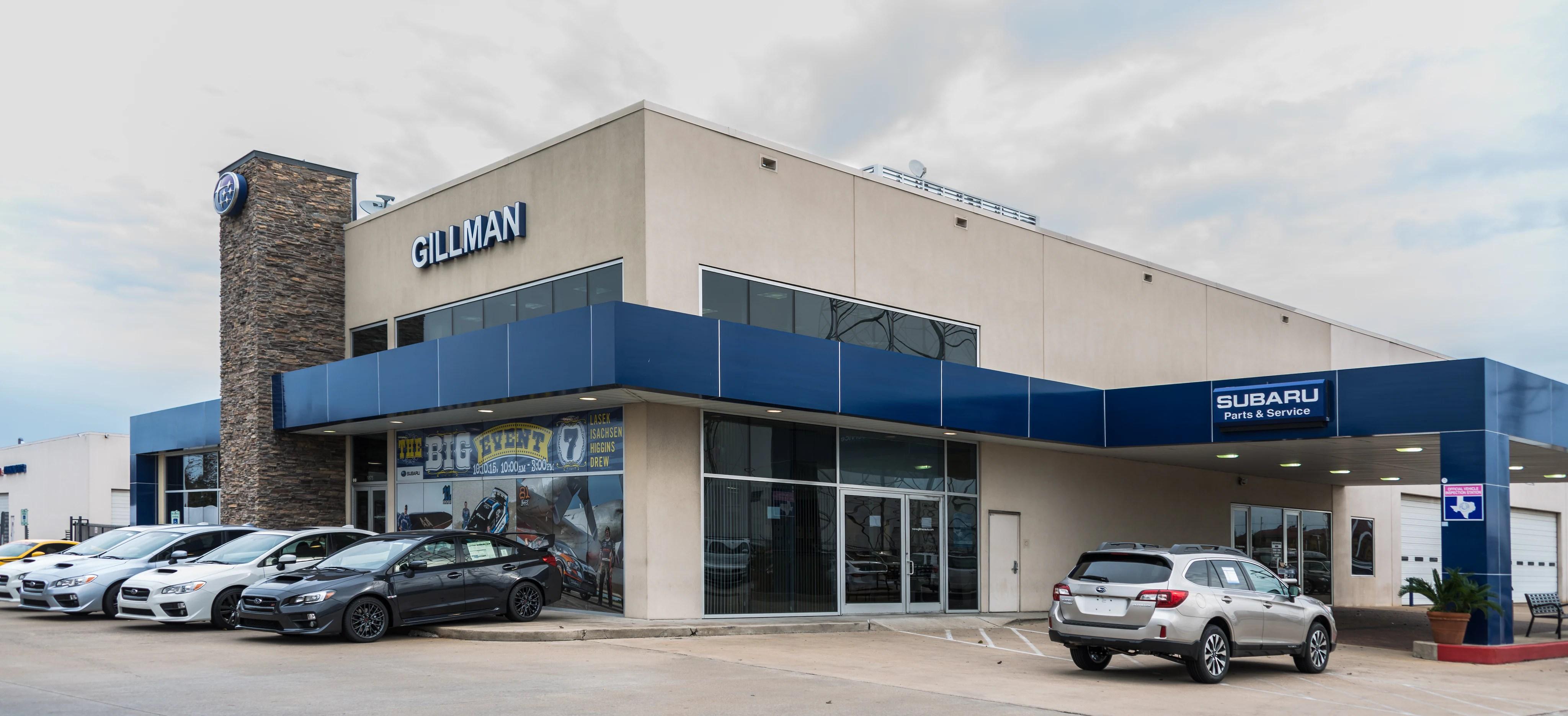 Gillman Subaru Southwest
