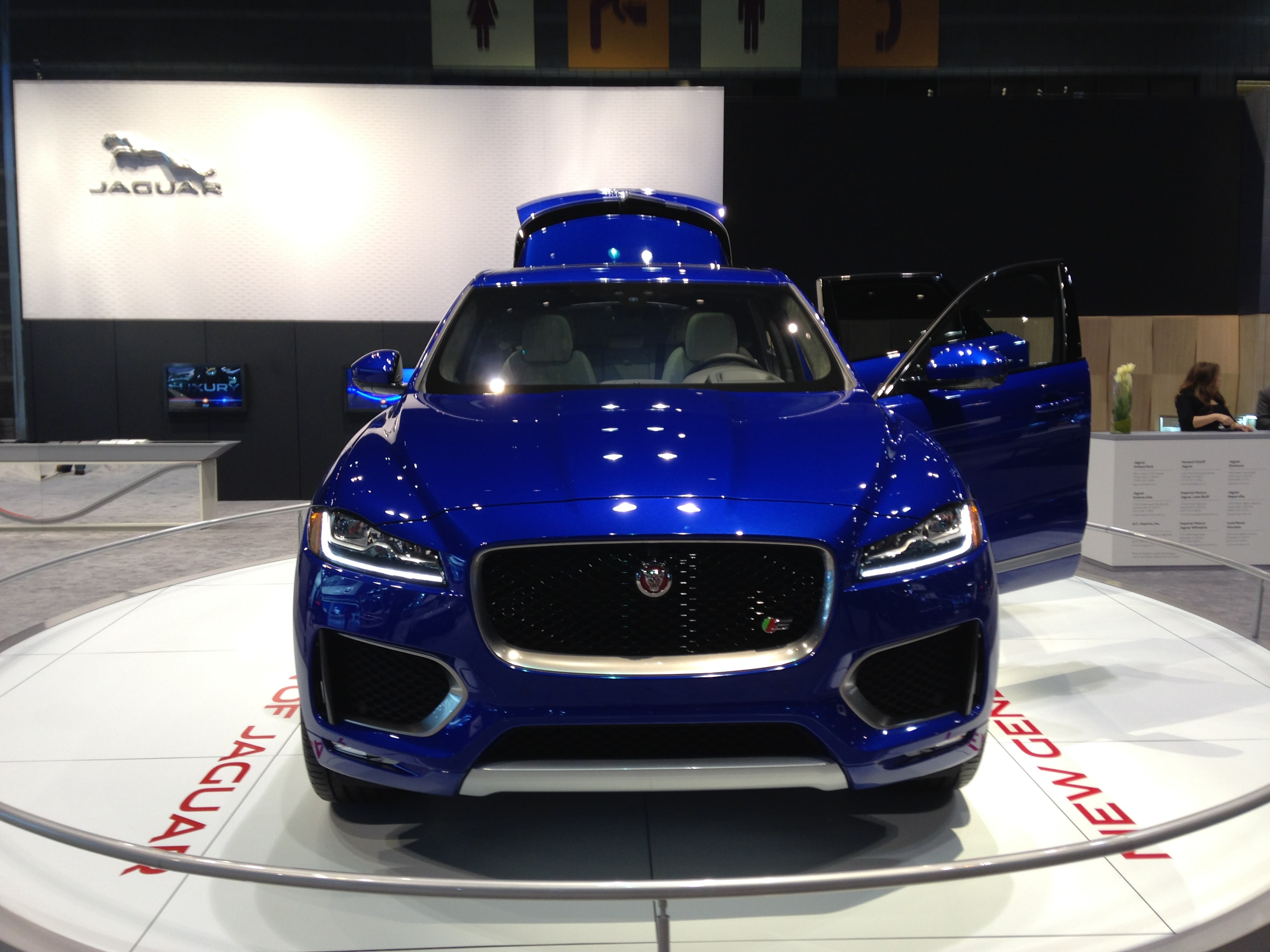 Jaguar Vehicles at the Chicago Auto Show