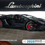 Used 2016 Lamborghini Aventador Sv Roadster For Sale Richardson Tx Stock Lt1337 Vin Zhwut3zd2gla04490