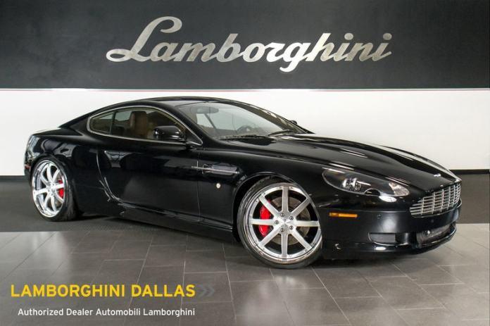 Used 2007 Aston Martin Db9 For Sale At Lamborghini Dallas Vin Scfad01a37ga08633