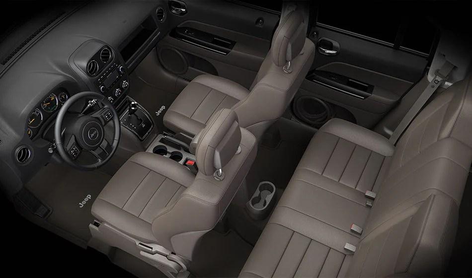 Jeep Patriot Interior Pics