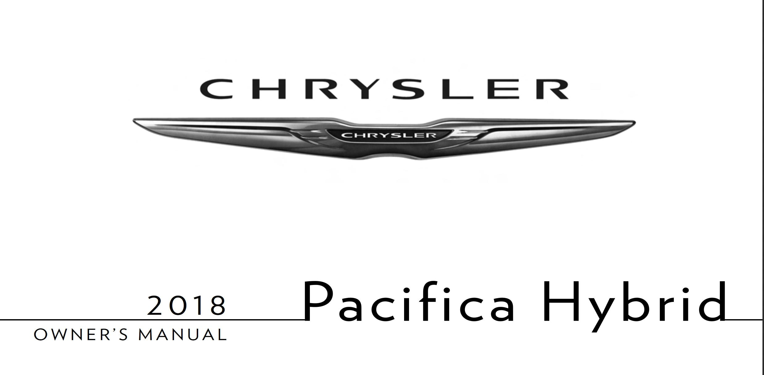 New Chrysler Pacifica For Sale