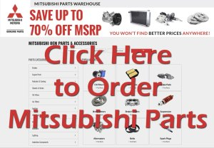Mitsubishi Montero Sport Parts Wholesale Dealer | Genuine OEM Auto Parts & Accessories