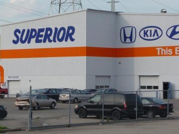 Superior Hyundai South In Cincinnati Oh Body Shop