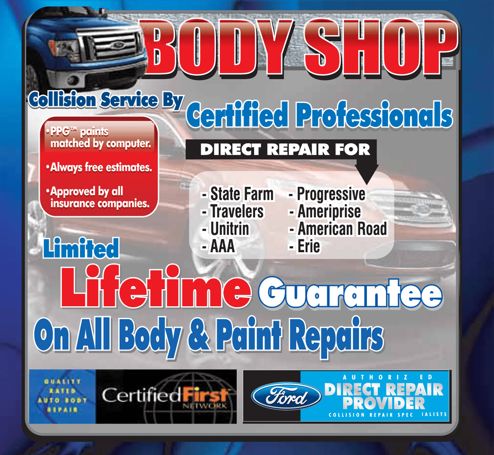Heidelberg Area Ford Auto Body Repair Shop Woltz S Collision Repair Center