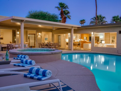 Luxury Palm Springs Vacation Home Rental - Acme House Company