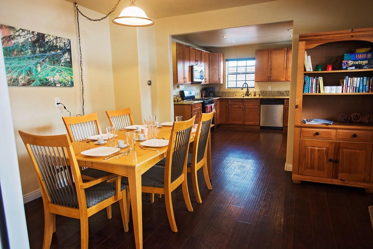 Open Dining Area & Kitchen 1