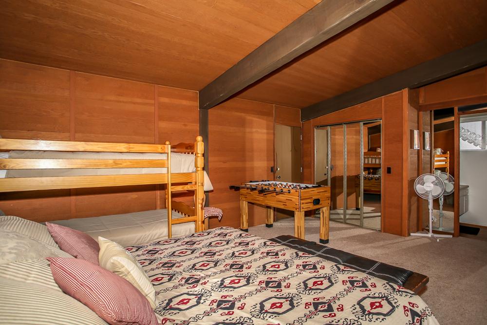 Bedroom with Foosball Table